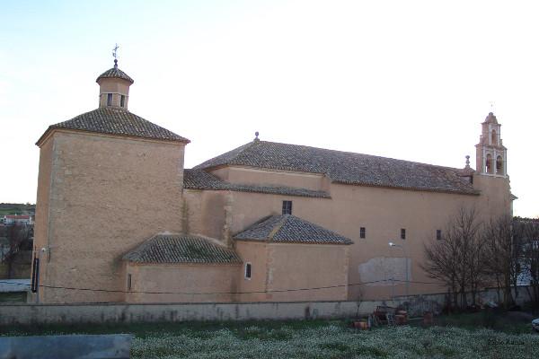 Papercraft imprimible y recortable del Convento de los Trinitarios de Fuensanta en Albacete, España. Manualidades a Raudales.