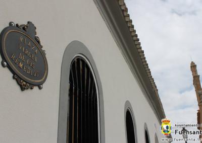 Placa Plaza Virgen de Los Remedios