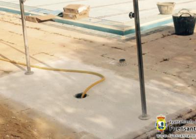 Sustitución del pavimento