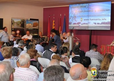 Fuensanta en la Feria de Albacete
