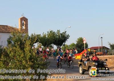 Ciclistas en ruta