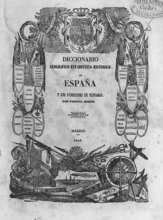portada diccionario madoz